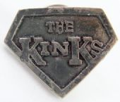 The Kinks - 'Shield' Cast Metal Badge
